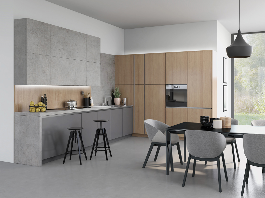 Vaasa / Light Grey Concrete