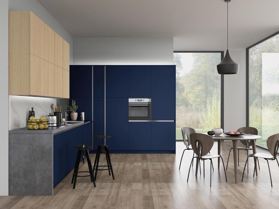 Vaasa / Indigo Blue Oak