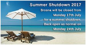 Brosna Summer Shutdown 2017