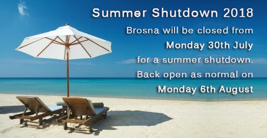 Brosna Summer Shutdown 2018