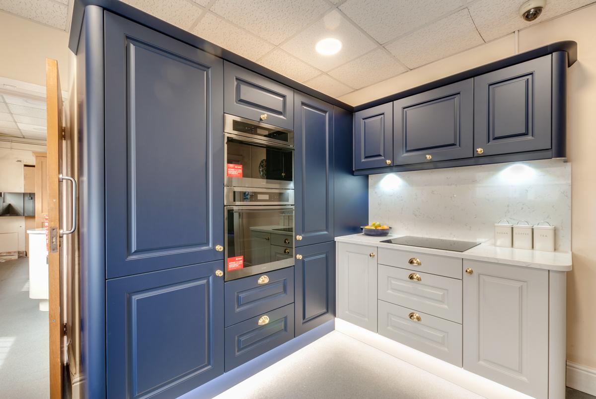 New Kitchen Display in Showroom