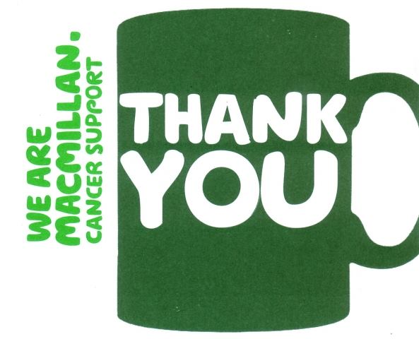 £143.52 Raised for Macmillan Cancer Support